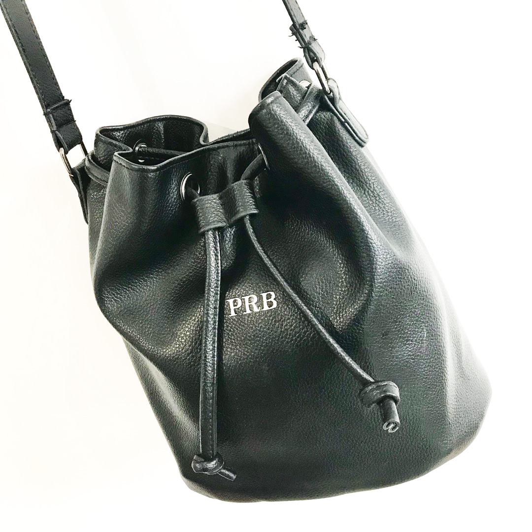 4447a5846f The Celine - Black Bucket Bag - The Cool Calm Collection